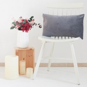 Grey Frida cushion 30x50