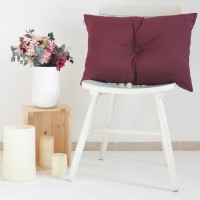 Bordeaux button Stockholm cushion