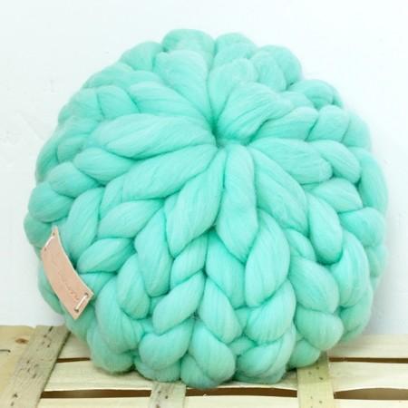 Cojín de lana de merino