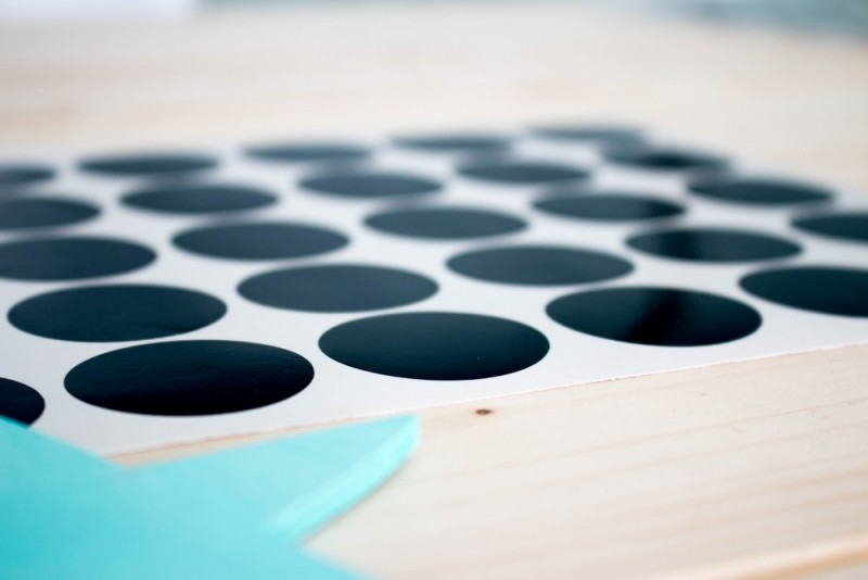 Black Dots Vinyl Boho Deco Shop