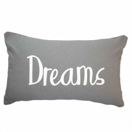 Grey dreams cushion