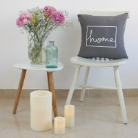 Grey Home design cushion