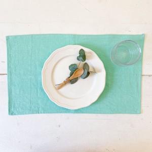 Mantel individual lino mint (pack de 2)
