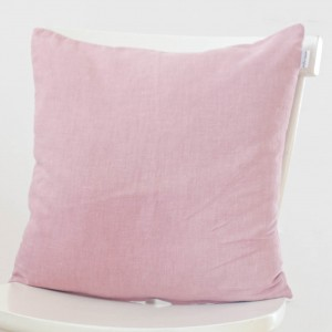 Funda de cojín Lino rosa