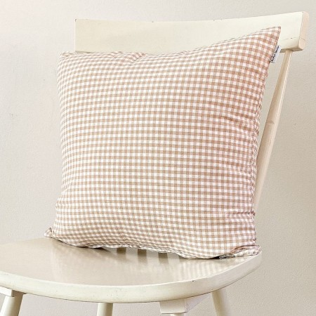 Tablecloth with white dots in grey