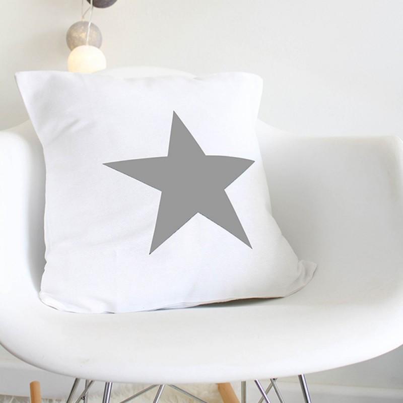 White Star Cushion Boho Deco Shop