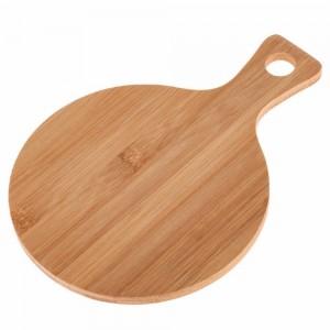 Tabla de cortar de bambú redonda