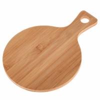 Tabla de cortar de bambú cuadrada