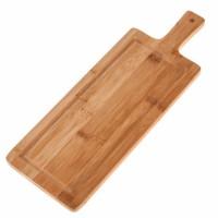 Tabla de cortar de bambú rectangular