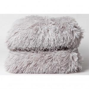 Manta plaid Frozen gris
