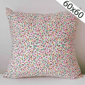 Liberty pink cushion 60x60