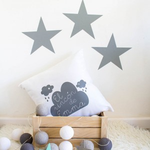 Vinilo Estrellas 22x22