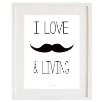 Cardboard Moustache