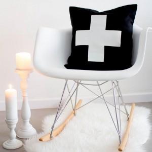 Black Cross cushion
