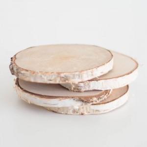 4 mini slices wood pack